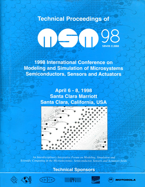 Technical Proceedings of the 1998 International Conference on Modeling and Simulation of Microsystems