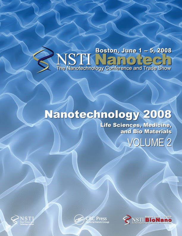 Nanotechnology 2008: Life Sciences, Medicine & Bio Materials – Technical Proceedings of the 2008 NSTI Nanotechnology Conference and Trade Show, Volume 2