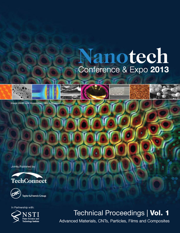 Nanotechnology 2013: Advanced Materials, CNTs, Particles, Films and Composites (Volume 1)
