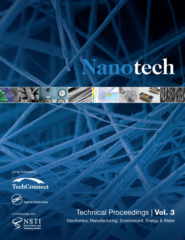 Nanotechnology 2014: Electronics, Manufacturing, Environment, Energy & Water